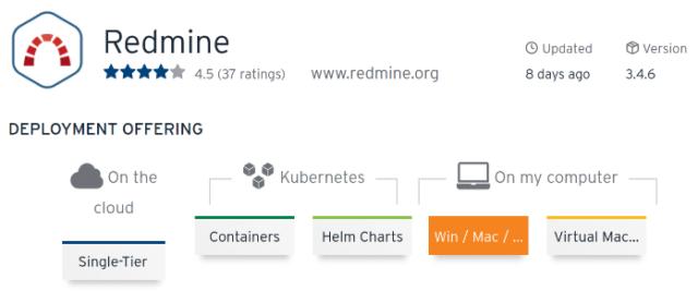 Bitnami Stack Redmine puede ser instalado en una nube, un Kubernetes, en una VM, en Windows, macOS o Linux