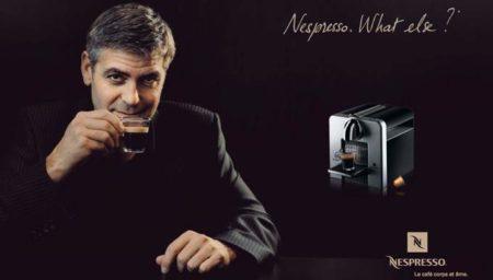 No tienes que parecerte a George Clooney para vender Nespresso;-)