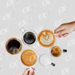 6 tasses de café