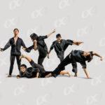 Groupe danseurs contemporains