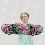 Homme, skateboard 4