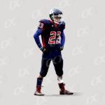 Joueur n°23, Panthers, maillot bleu