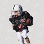 Joueur n°45, Red Raiders, maillot noir