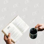 Livre et cafe