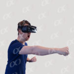 Lunettes VR, homme