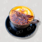 Tasse de café à ras bord