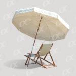 Transats et parasol de vacances 2