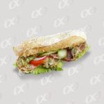 Un sandwich bien garni