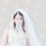 Une mariée avec son voile