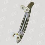 Une planche de skateboard