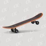 Une planche de skateboard 3