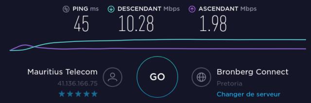 La qualité de la connexion Internet entre Maurice et l'Afrique du sud est confirmée avec Pretoria