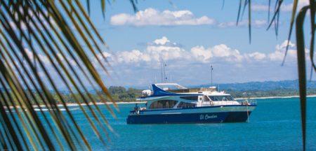 Plusieurs bateaux sont à disposition au port de Soanierana-Ivongo
