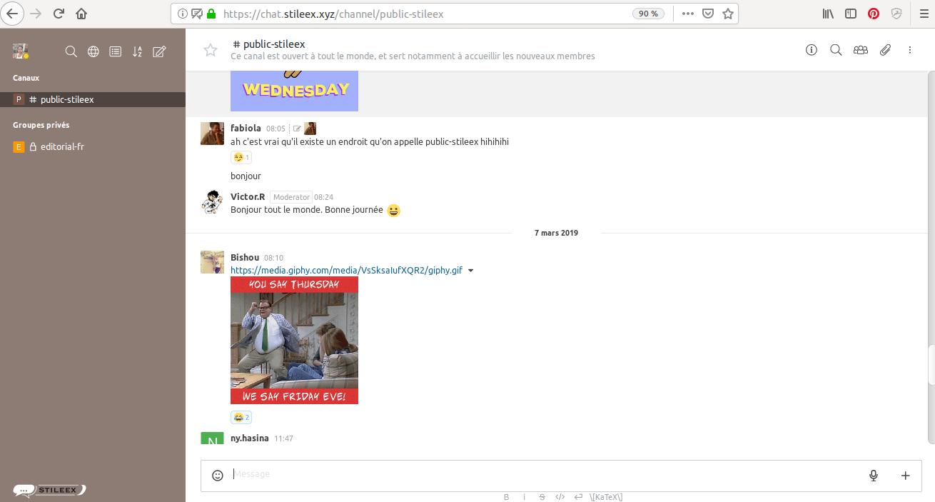 Rocket Chat, un outil de messagerie instantanée adapté aux entreprises