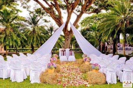 Une décoration de mariage originale et efficace