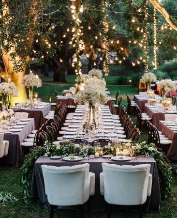 Pour votre décoration de mariage, misez sur le thème champêtre et marquez les esprits de vos convives