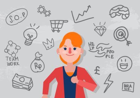 Une femme entrepreneur est à l'image de l'égalité de genre