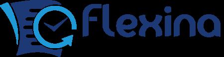 Logo de flexina