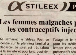"""""""Les femmes malgaches préfèrent les contraceptifs injectables"""" - Titre du journal Jejoo du 14 mars 2019"""