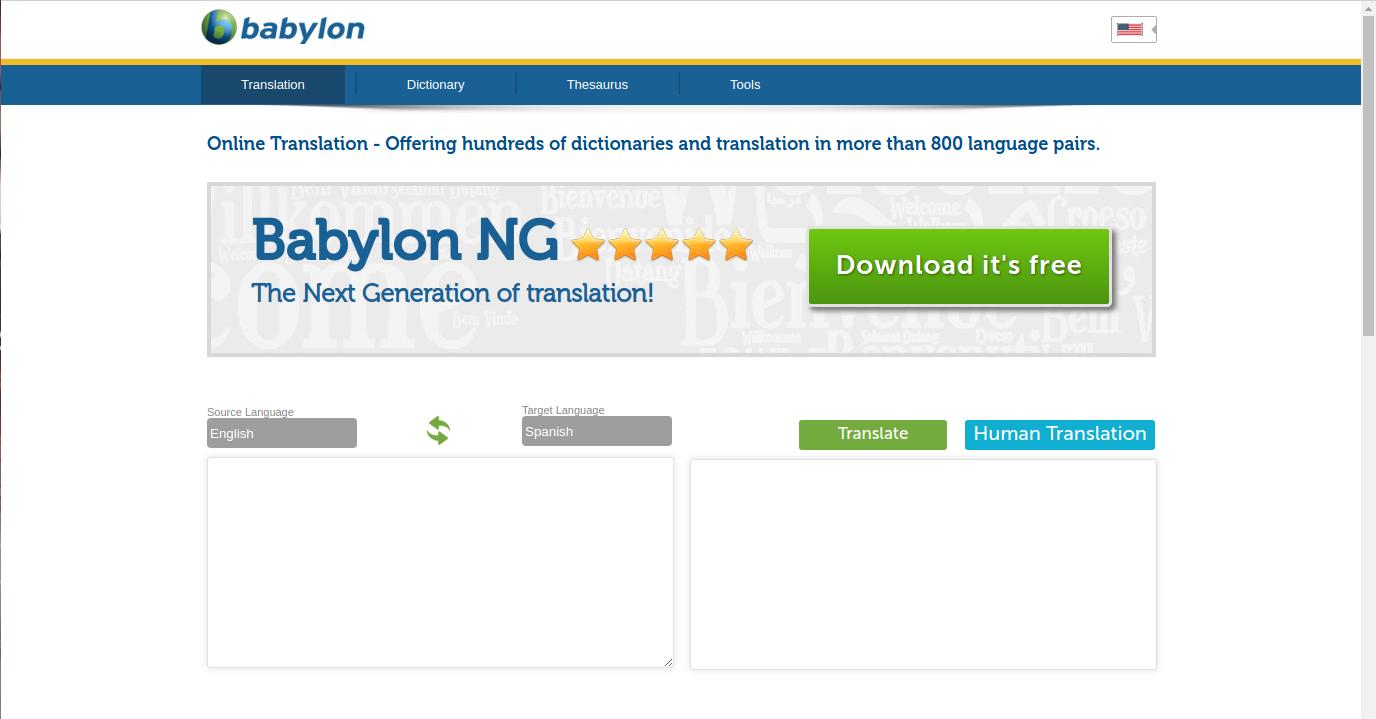 Beaucoup de clients sont satisfaits du logiciel de traduction gratuit en ligne de Babylon
