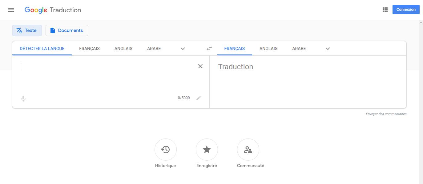 Le logiciel de traduction le plus simple d'utilisation: Google Traduction