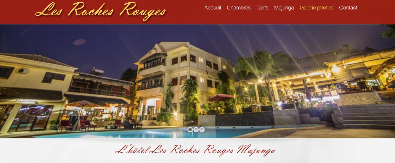 L'hôtel Les Roches Rouges de Majunga