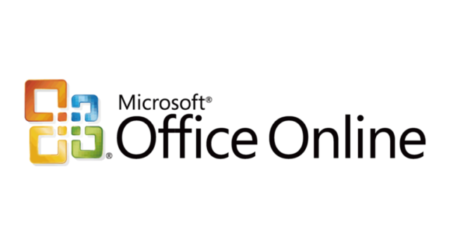 The logo of Microsoft Office in Cloud