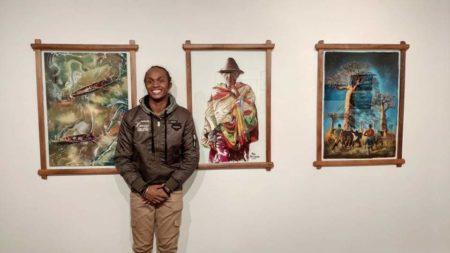 Les tableaux de Natoa exposés à l'IFM