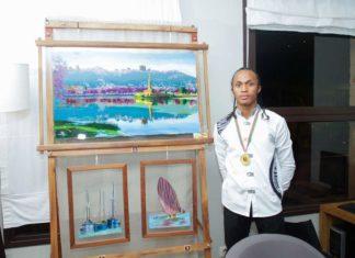 Portrait de Natoa Rasolonjatovo, un peintre malgache passionné