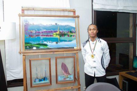 Natoa Rasolonjatovo, le prodige de la peinture sur verre