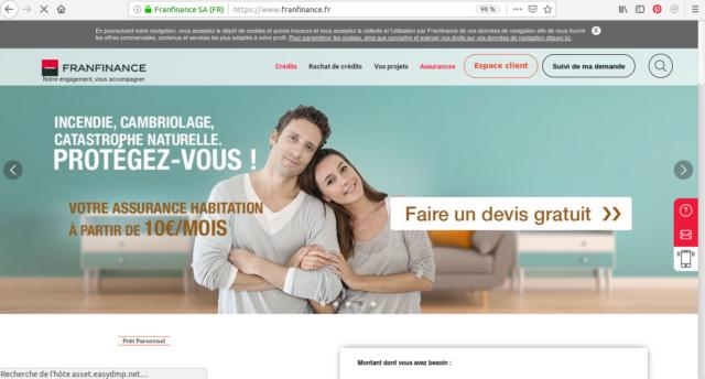 Franfinance vous propose de réaliser votre demande de crédit 100% en ligne