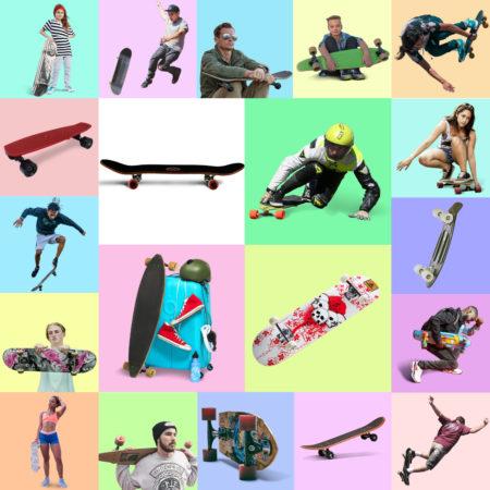 Vignette Skateboard