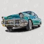 Chevrolet des années 50 à Cuba