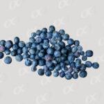 Bleuets en tas
