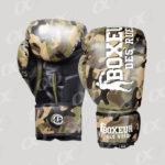 Boxeur de rues, gants de boxe