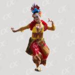 Danseuse d_Asie