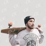 Homme, skateboard 3