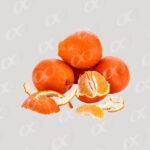 Orange epluchee
