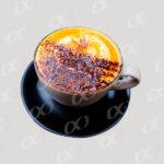 Tasse de cafe a ras bord