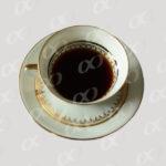 Tasse de cafe noir