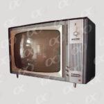 Un vieux modele de television
