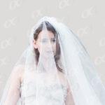 Une mariee avec son voile