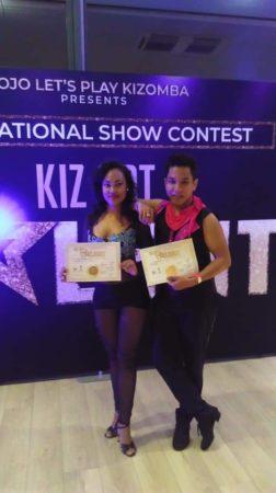 Toky & Steph au Kiz Got Talent de Paris 2019. Ne sont-ils pas la fierté de la fédération malgache de danse de salon?