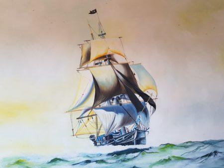 Vous découvrirez au musée des pirates que la Chine a été une pionnière dans le monde de la piraterie