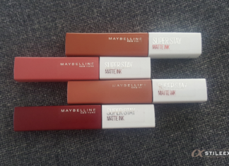 Rouges à lèvres Superstay Matte Ink de Maybelline