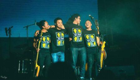 Fy Rasolofoniana & Band se partageant la même passion.