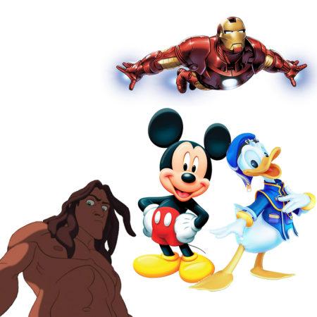 La bande à Fy Rasolofoniaina en Disney (selon eux):D.