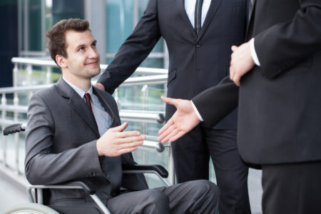 Handicapé ou pas, tout le monde a le droit de travailler