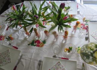 Les nappes de tables malgache : alliés pour un dîner « gasy gasy »réussi