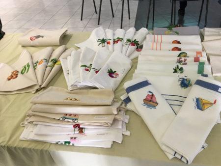 De nombreux choix pour acheter des nappes de table malgaches